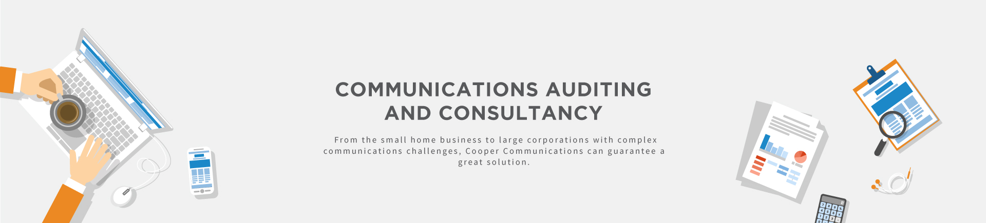 Communications auditing and consultancy